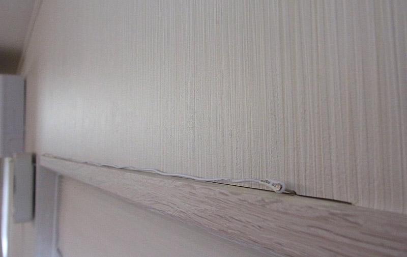 無印良品 壁掛けCDプレーヤー ラジオのアンテナ配線