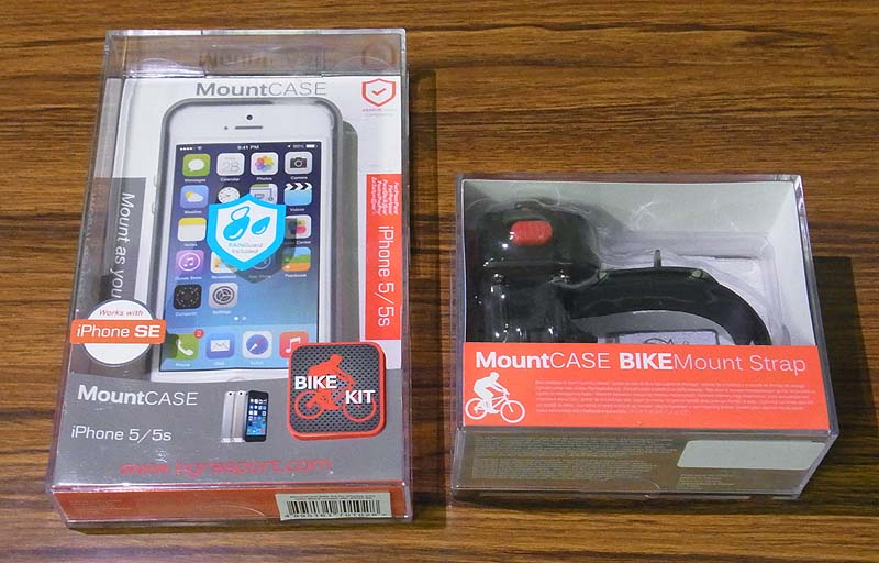 Brompton and TiGRA Bike CONSOLE LITE For iPhone